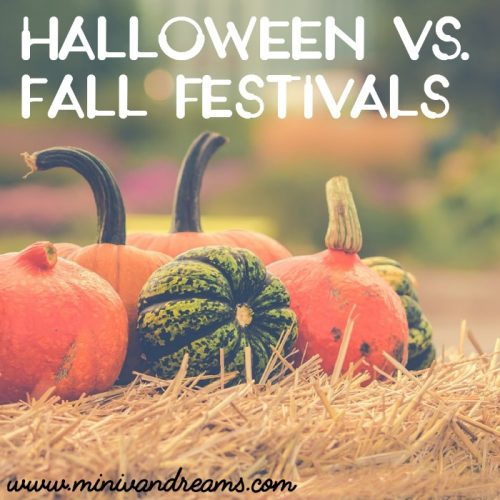 Halloween versus Fall Festivals: My Take on the Debate | Mini Van Dreams