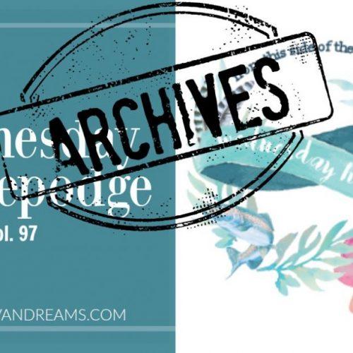 Wednesday Hodgepodge Vol. 97   Mini Van Dreams