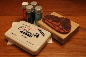 Multiple Color Heat Embossing Supplies