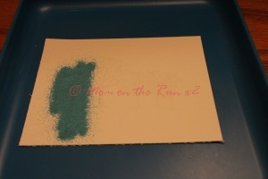 Multiple Color Heat Embossing First Color