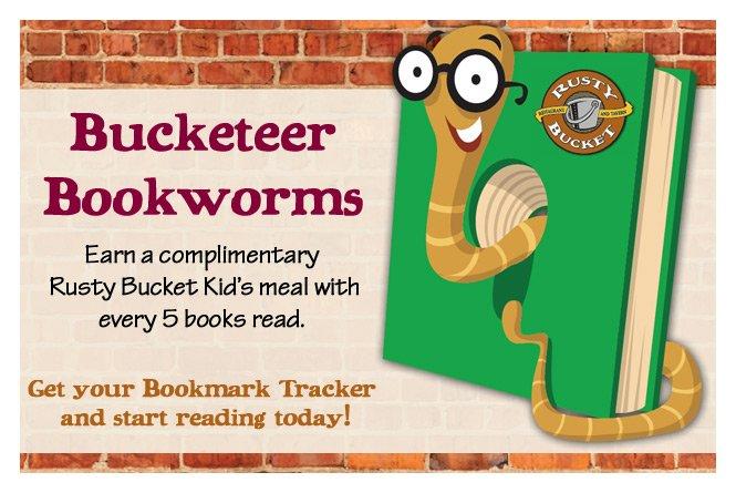 Bucketeer Bookworms