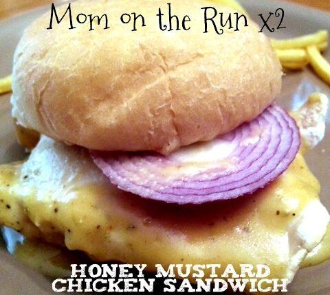 honey mustard chicken sandwich