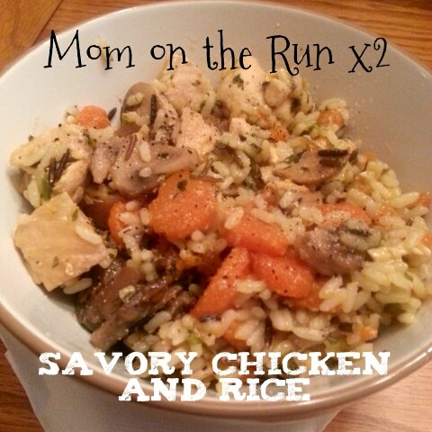 savory chicken and rice recipe