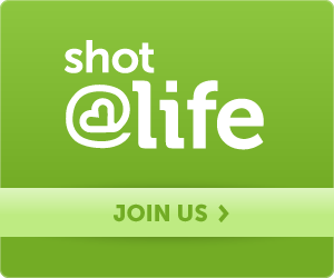 shot at life web badge