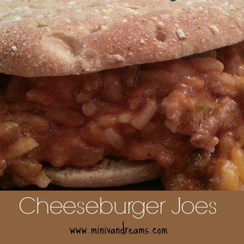 Cheeseburger Joes via Mini Van Dreams