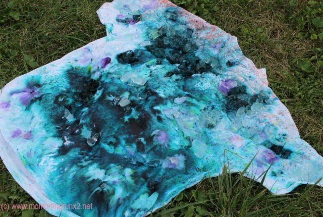 ice dying tee shirts