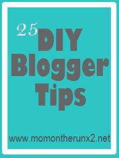 DIY Blogger Tips