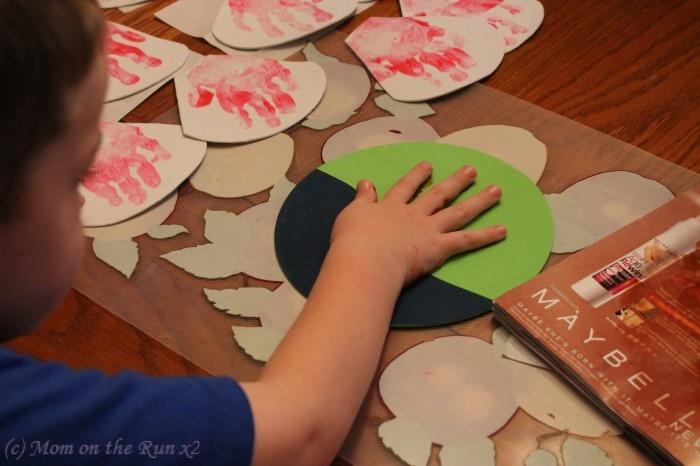handprint gifts kids can make