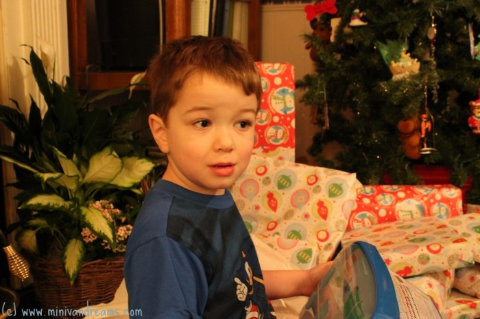 Christmas 2013 - Bo Opening Gifts