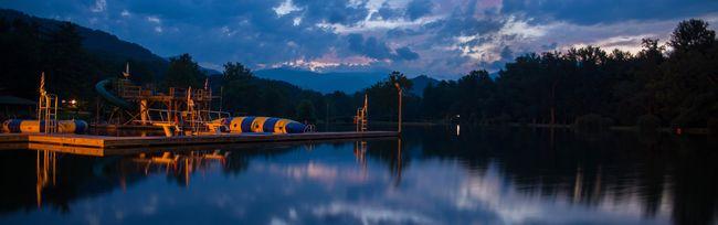Camp Rockmont via Mini Van Dreams