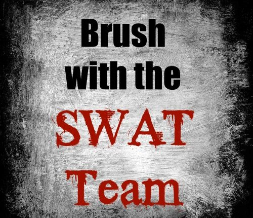 SWAT Team Open Up! via Mini Van Dreams