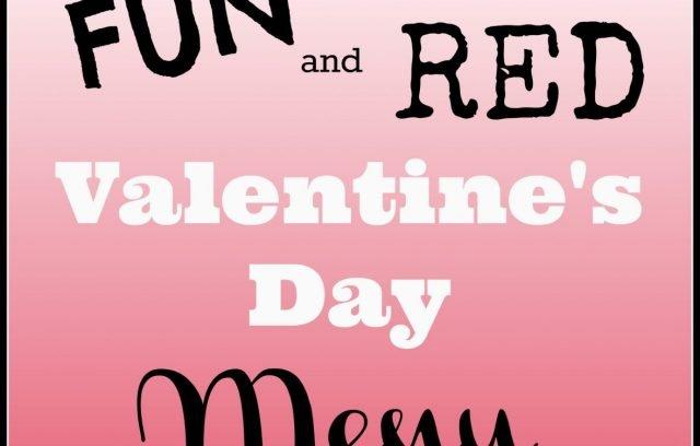 kid friendly valentines day menu
