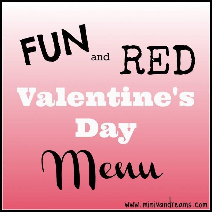 Kid friendly valentines day menu mini van dreams for Kid friendly valentine recipes