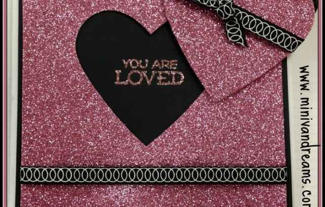you are loved valentines day card via mini van dreams