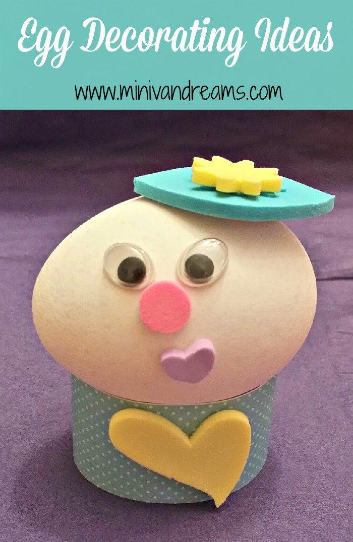 Egg Decorating Ideas via Mini Van Dreams