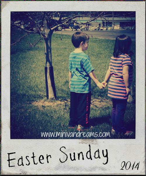 Easter Sunday 2014 via Mini Van Dreams