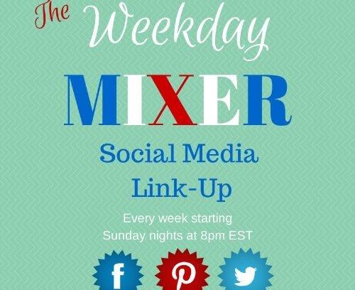 It's the Weekday Mixer Social Media Link Up! Come join the fun! via Mini Van Dreams