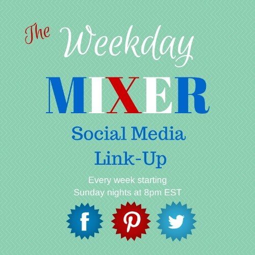 It's the Weekday Mixer Social Media Link Up! Come join the fun! via Mini Van Dreams