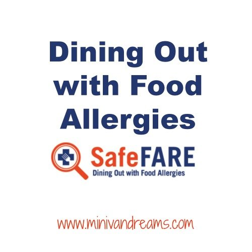 Dining Out with Food Allergies | Mini Van Dreams