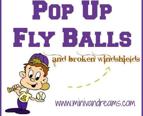 Pop Up Fly Balls and Broken Windshields   Mini Van Dreams #funnyfamilystories