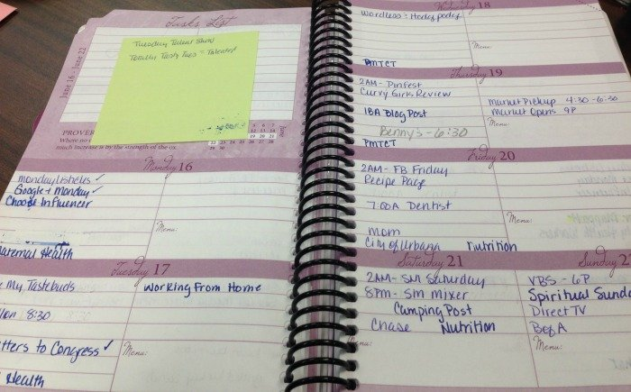 Daily Planner Review & Giveaway! | Mini Van Dreams #dailyplanner #giveaway