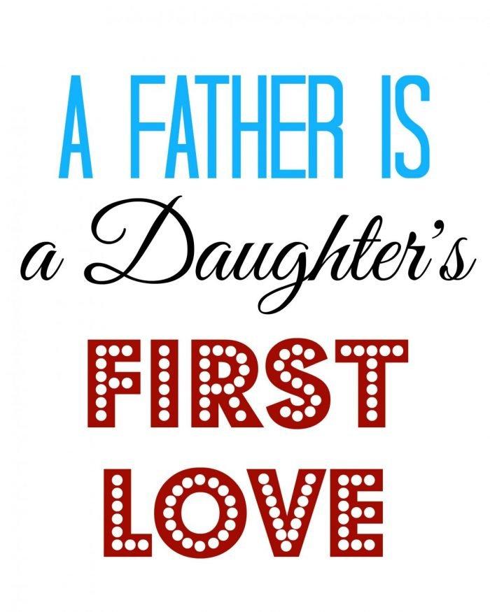 Father's Day Subway Art Free Printable   Mini Van Dreams #fathersday #free #printable