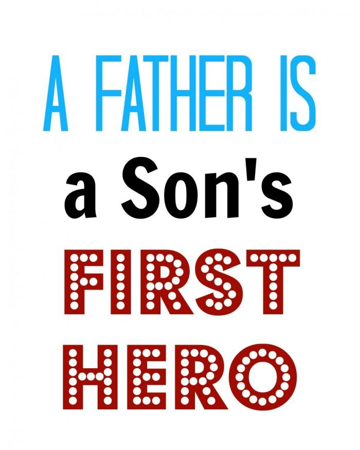 Fathers Day Subway Art Free Printable   Mini Van Dreams #free #printable #fathersday