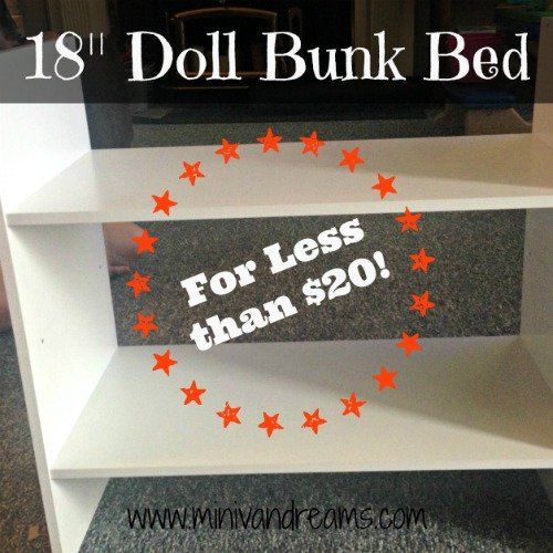 18 Doll Bunk Beds Plans