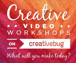 Get Creative with CreativeBug's Craft Classes! via Mini Van Dreams #getcreative #sponsored #review