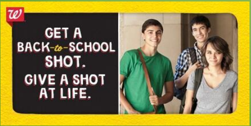 Get A Shot.  Give A Shot.  | Mini Van Dreams #socialgood #shotatlife
