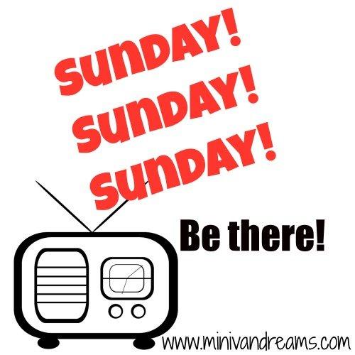 Sunday! Sunday! Sunday! Be there! | Mini Van Dreams #nostalgia #kingsroyal31