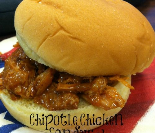 Chipotle Chicken Sandwich | Mini Van Dreams #easyrecipes #recipes #recipesforchicken