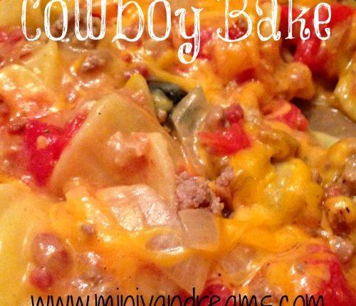 Cowboy Bake | Mini Van Dreams #recipes #easyrecipes #recipesforcasseroles