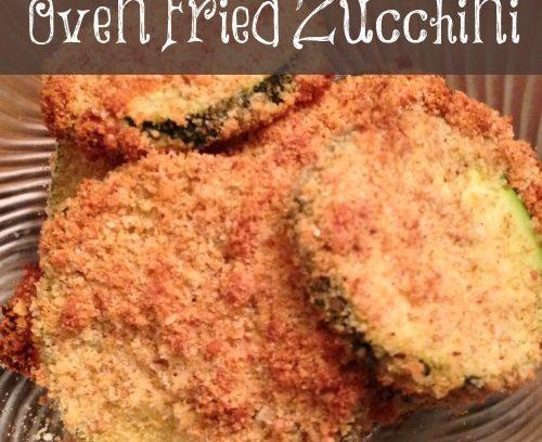 Oven Fried Zucchini | Mini Van Dreams #recipes #easyrecipes #vegetarian