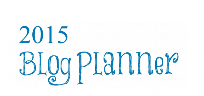 Free 2015 Customizable Blog Planner | Mini Van Dreams