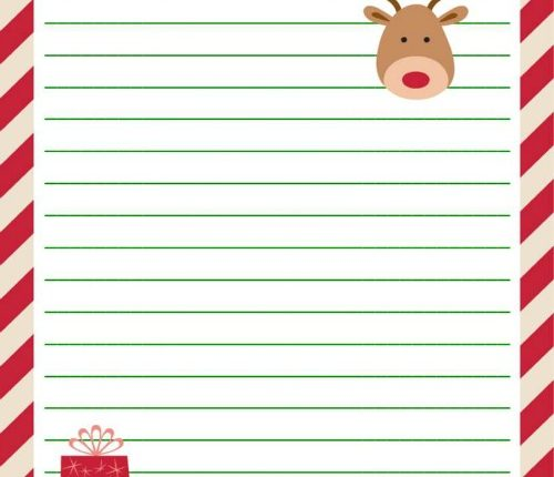 Letter to Santa Free Printable | Mini Van Dreams