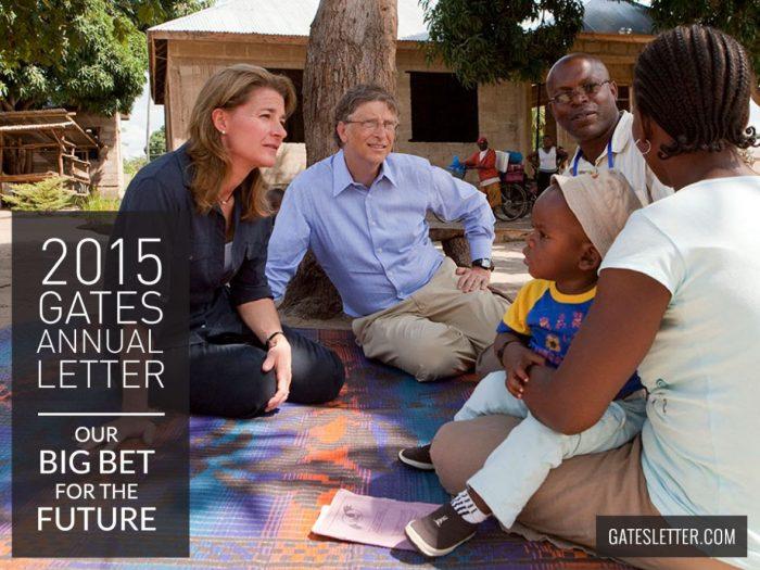 Betting on the Gates - 2015 Gates Letter   Mini Van Dreams