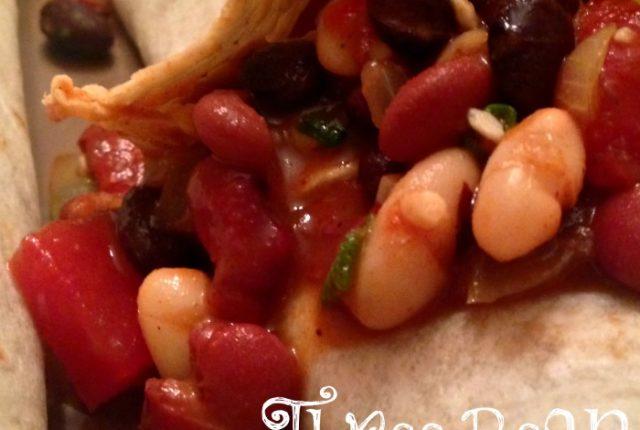 Three Bean Burritos | Mini Van Dreams