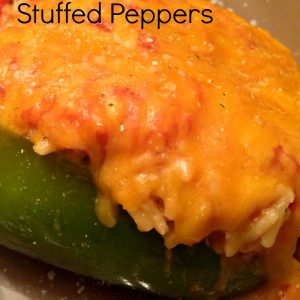 Vegetarian Stuffed Peppers | Mini Van Dreams