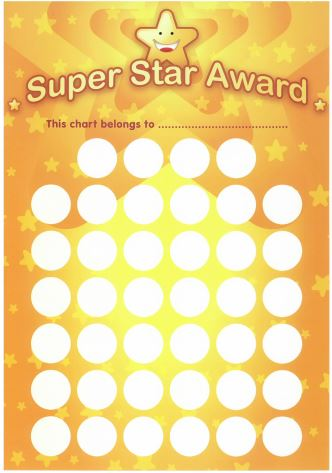 Personalized Sticker Reward Charts [REVIEW] | Mini Van Dreams