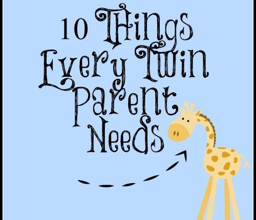 Things Twin Parents Need | Mini Van Dreams