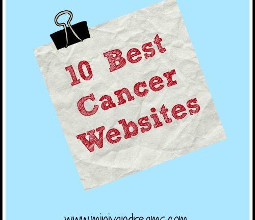 10 Best Cancer Websites   Mini Van Dreams