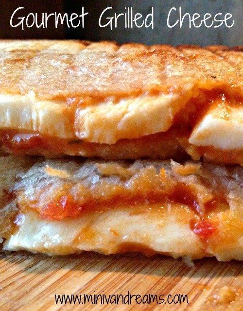 Gourmet Grilled Cheese | Mini Van Dreams