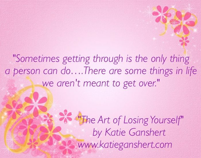 The Art of Losing Yourself by Katie Ganshert | Mini Van Dreams