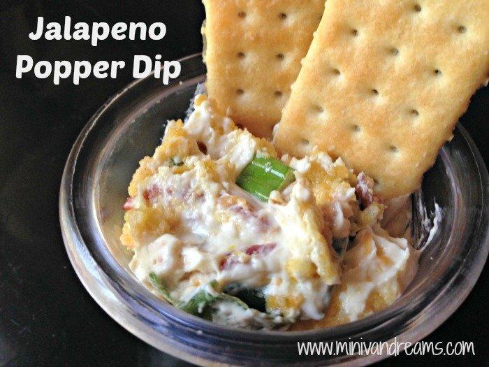 Jalapeno Popper Dip | Mini Van Dreams