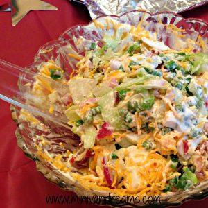 Layered Salad | Mini Van Dreams