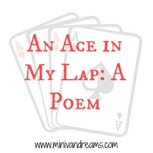 An Ace in My Lap: A Poem | Mini Van Dreams