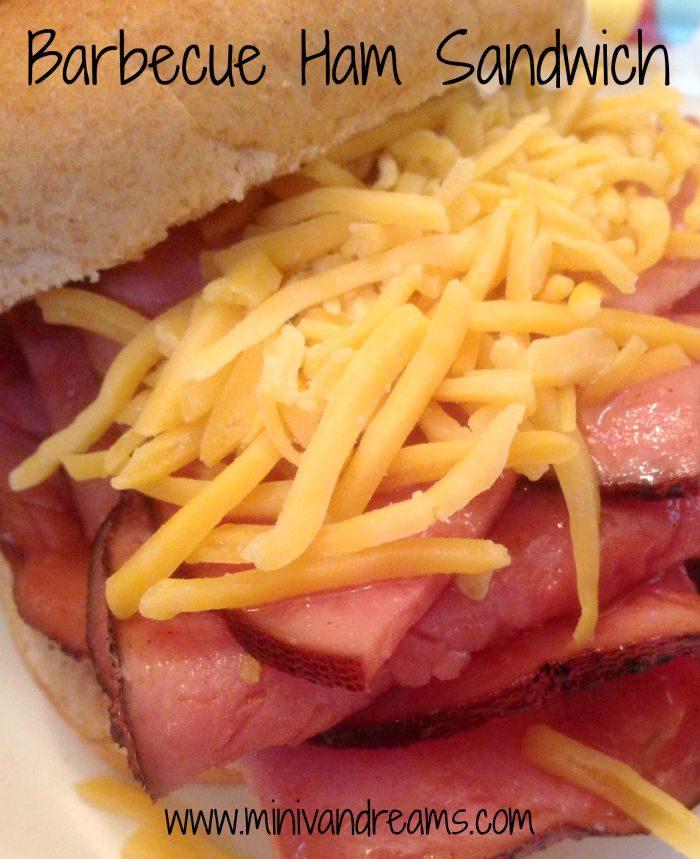 Barbecue Ham Sandwich | Mini Van Dreams