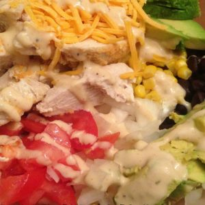 Chicken Burrito Bowl | Mini Van Dreams