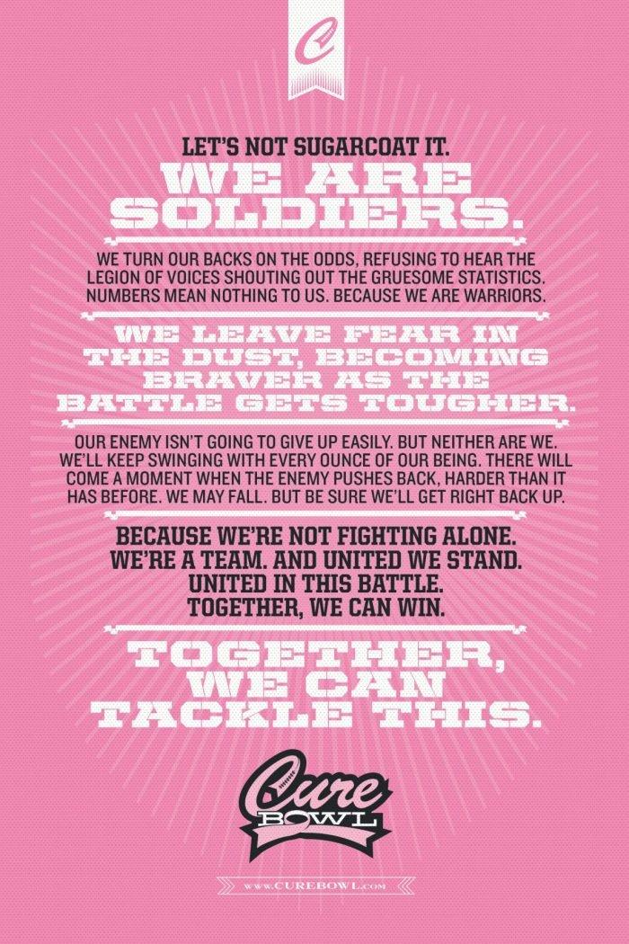 AutoNation Cure Bowl: Help Tackle Breast Cancer | Mini Van Dreams